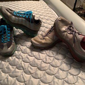 2 pairs of Nike AirMax- fair condition